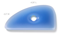 Xiem Rigid Plastic Clay Rib 5 - Blue (PCR5)