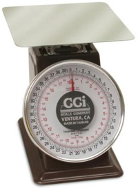 CCi Spring Dial Scale - Model 2502