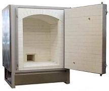 Geil DLB-24 Natural Draft, Front Loading Kiln - Natural Gas