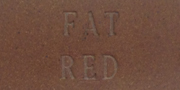 Aardvark Clay's Fat Red