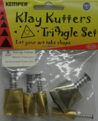 Kemper Pattern Cutter Set - PCSTR - Triangle