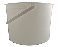 Pail - 5 Quart with Plastic Handle & Lid