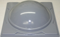 Bat Mold - B - #2 Lid and Bowl - 13""