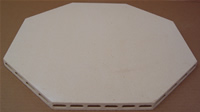 "Corelite Kiln  Shelf - 15""x16"" Octagon x 5/8"""