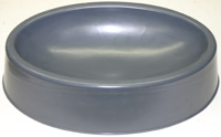 Slump Hump Mold - MM - Curved Bottom Oval