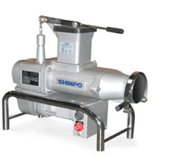 Shimpo Pug Mill  NR-041S  (stainless / no vacuum)