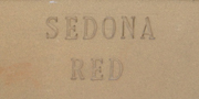 Aardvark Clay's Sedona Red