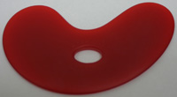 Sherrill Mudtools -  Small Bowl Rib - Red