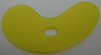 Sherrill Mudtools -  Small Bowl Rib - Yellow