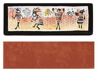 Mayco Designer Stamp - ST-117 - Tribal