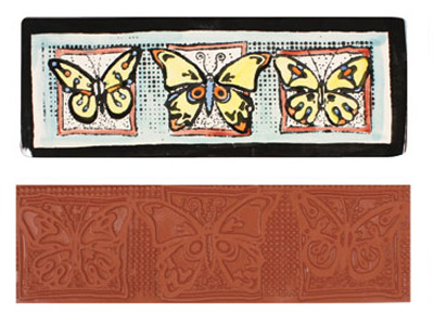 Mayco Designer Stamp - ST-121 - Butterfly