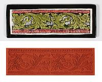 Mayco Designer Stamp - ST-347 - Carved Border