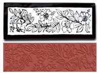 Mayco Designer Stamp - ST-366 - Fruit Blossoms