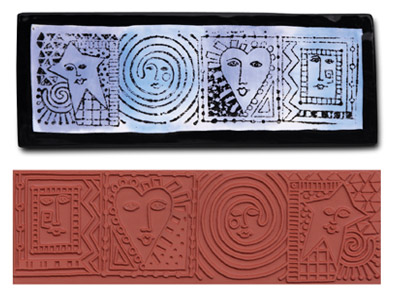 Mayco Designer Stamp - ST-373 - Cube Faces