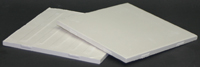 "Cone 04 White Tile - Case of 40 - 6"" x 6"""