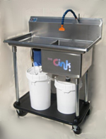 The CINK- The Complete Clay Filtering & Water Recycling System.
