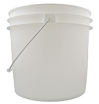 Pail - 4 Gallon with Lid and Handle