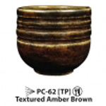 AMACO Potter's Choice - PC-62 - Textured Amber Brown- 1  pint