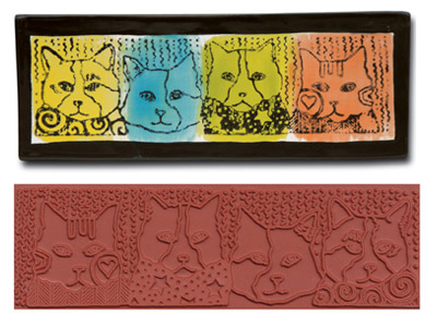 Mayco Designer Stamp - ST-374 - Design Cats