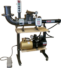 Peter  Pugger VPE-8SS Power Extruder - Adjustable Stand with Wheels sold seperately