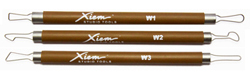 Xiem Wire Sculpting Tools - Set of 3 (Double Ended) (PSTS3WS)